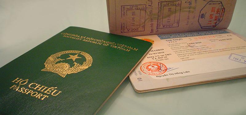 phân biệt hộ chiếu visa