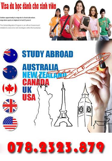 Xin Visa Du Học Đơn Giản