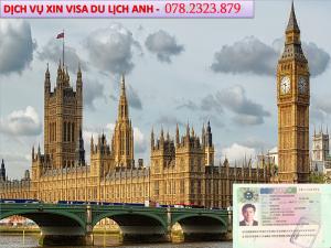Xin visa Anh du lịch tự túc