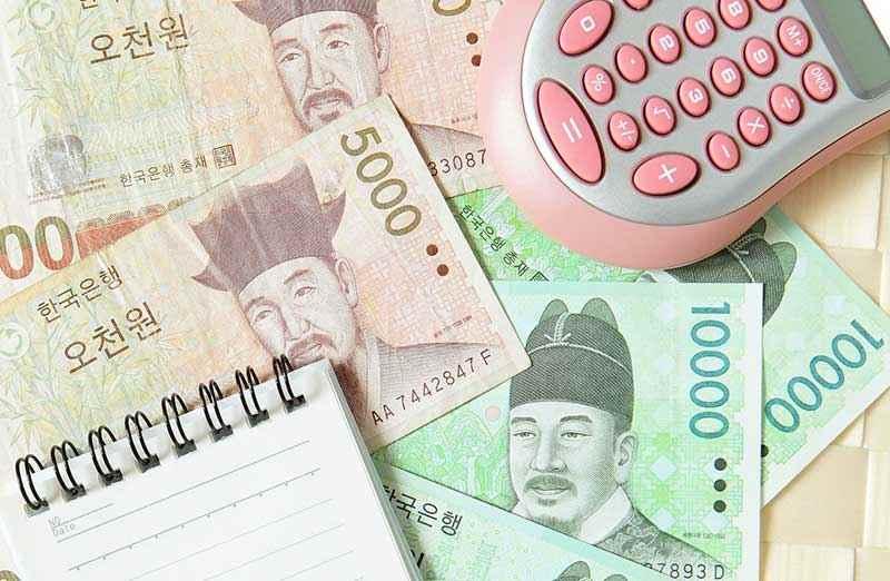 Chi phí du lịch Hàn Quốc