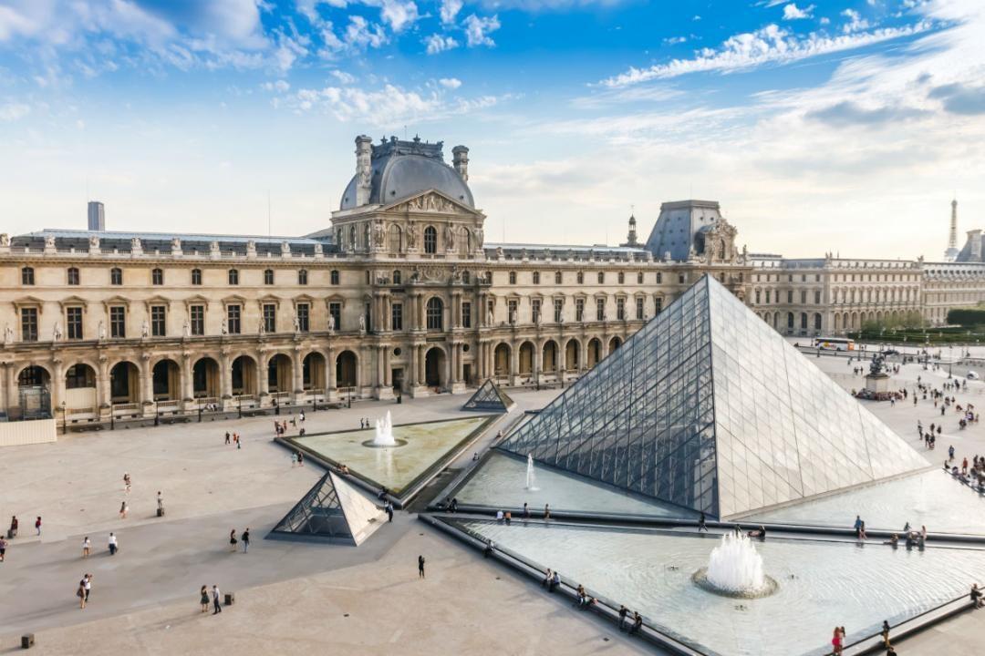 bảo tàng louvre-Pháp- du lịch tự túc