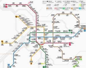 các điểm du lịch đài bắc bằng tàu điện ngầm