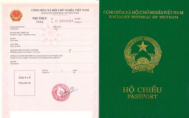 visa rời thị thực rời