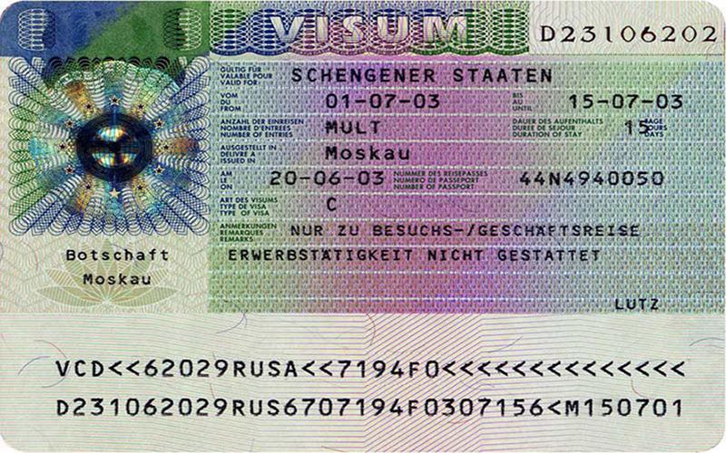 thủ tục xin visa đức