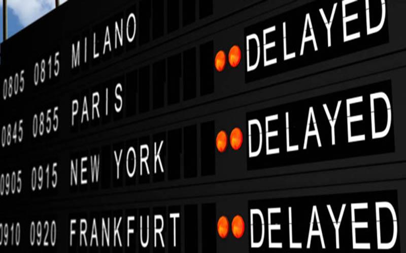 tại sao máy bay bị delay trễ chuyến
