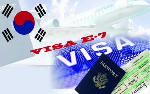 Visa E7 Hàn Quốc và điều kiện được cấp visa
