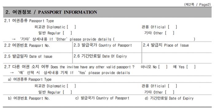 thông tin hộ chiếu