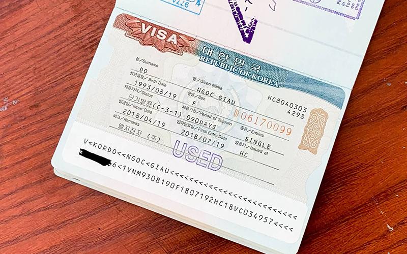 e visa đài loan