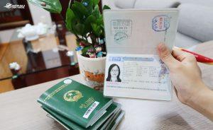 visa dán thường đài loan