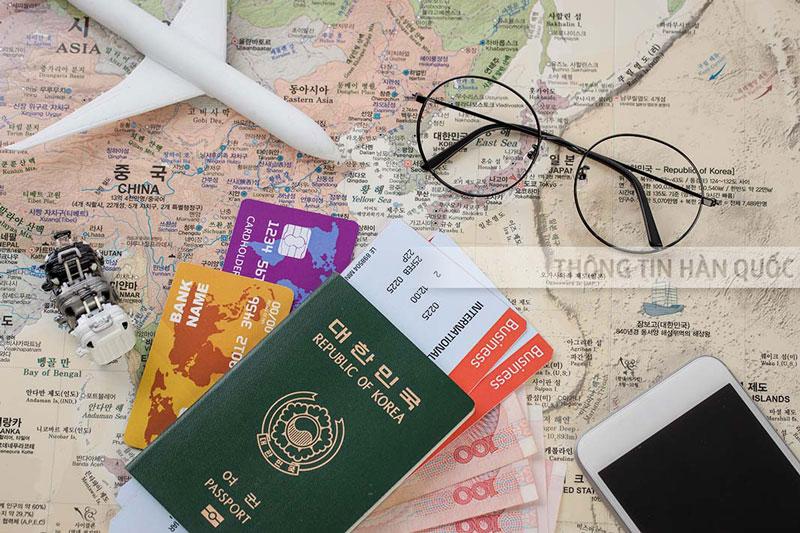 giấy tờ cần khi xin visa hàn quốc