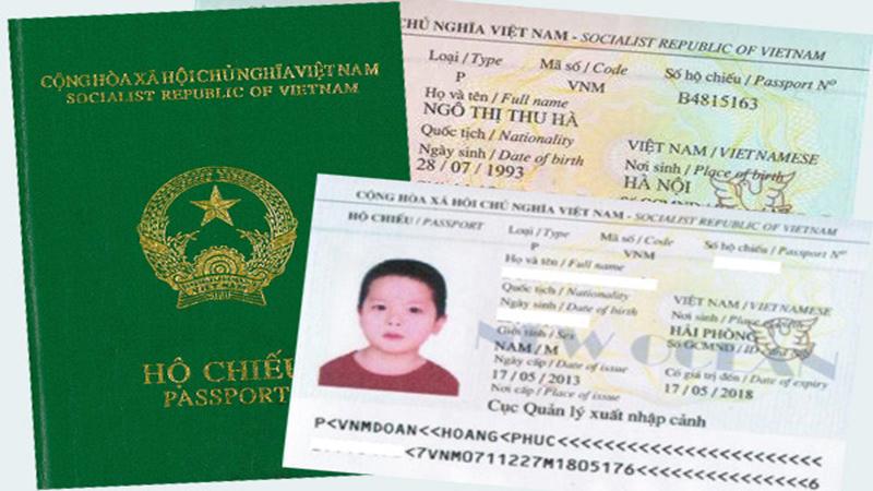 cách thức làm hộ chiếu