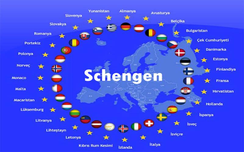 các nước khối schengen