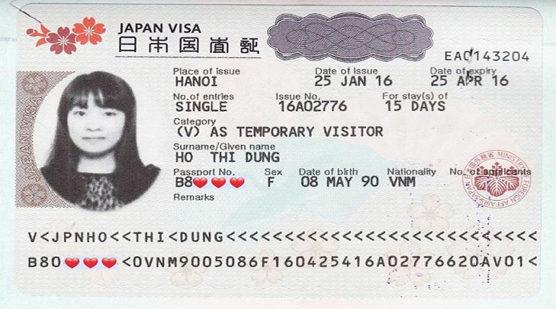 có visa nhật đi được nước nào