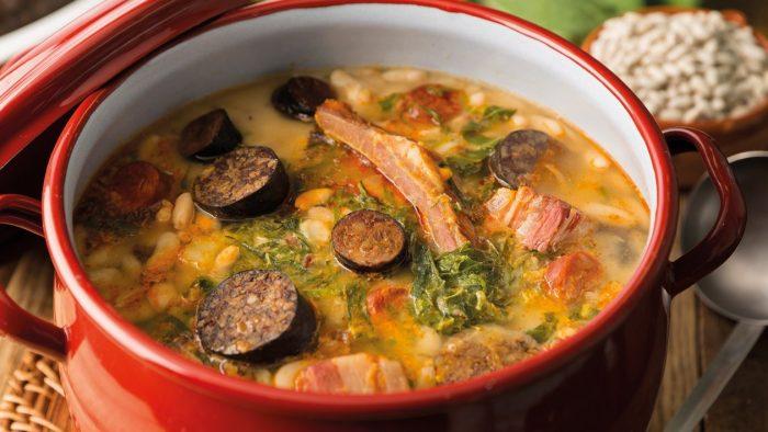 ẩm thực tây ban nha cocido montanes