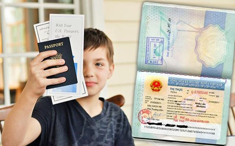 kinh nghiệm làm hộ chiếu cho bé