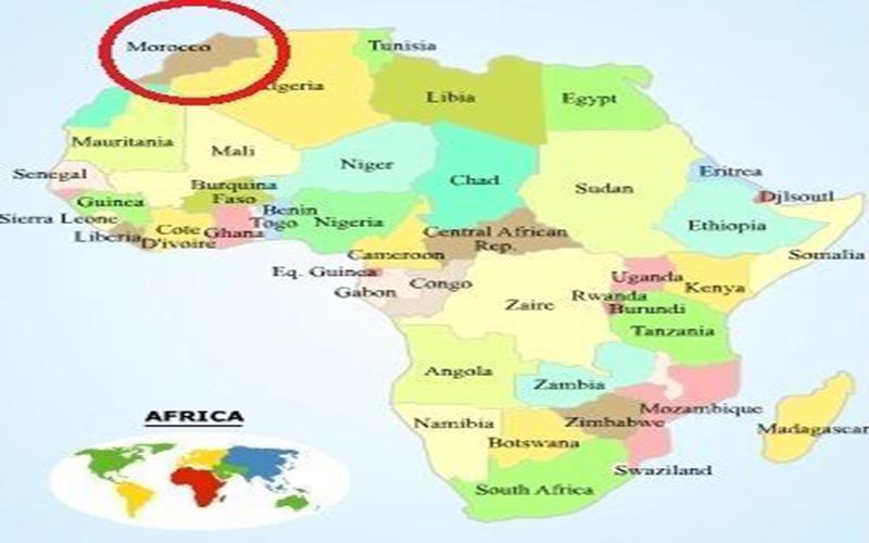 morocco ở đâu