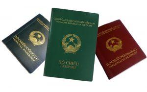 các thủ tục làm hộ chiếu