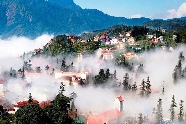 địa điểm du lịch mùa đông