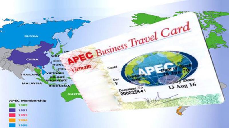 thẻ apec đi những nước nào