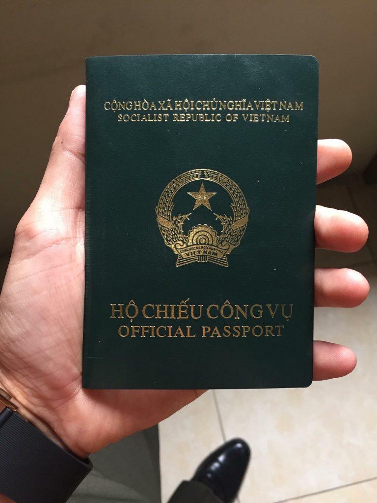 06 đối tượng được cấp hộ chiếu công vụ từ 01/7/2020